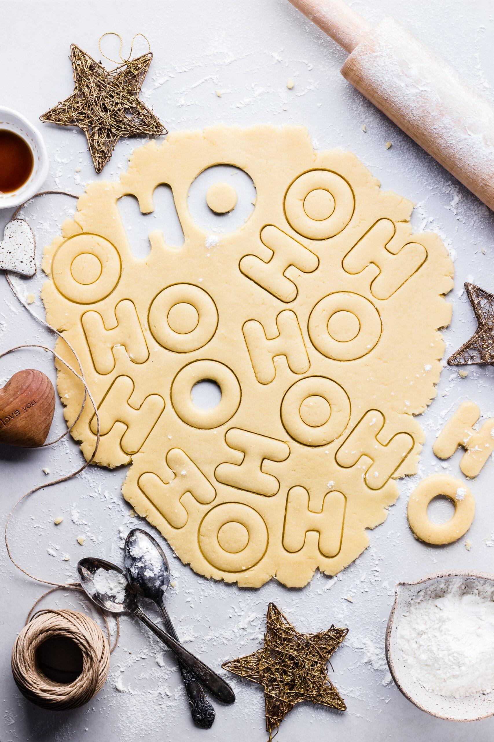 Easy Rolled Christmas Sugar Cookies