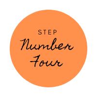online ordering website step number four