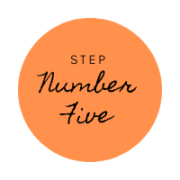 online ordering webiste step five