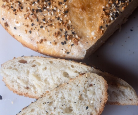 Anyone can bake bread with my easy 2 x 4 bread baking method