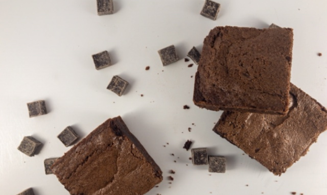 Cravings Buster Dense and Fudgy Brownies
