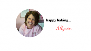 Allyson Burns Better Baker Club
