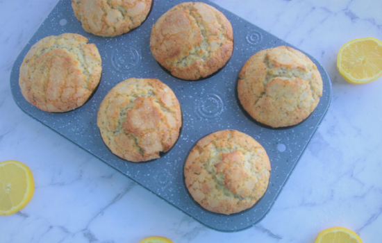 Magnificent Lemon Poppy Seed Muffins