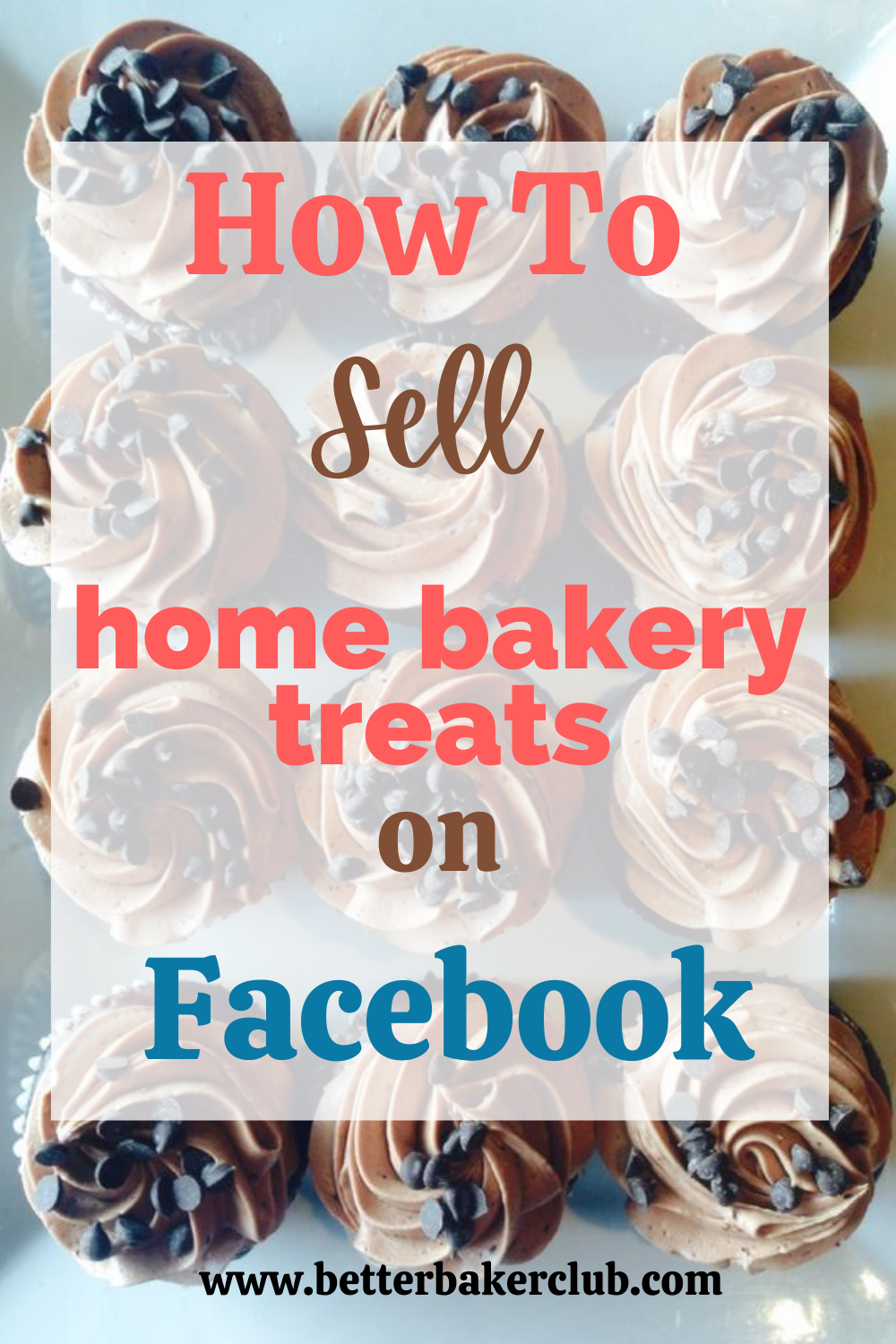 Selling home baked goods on Facebook promotional image by baking expert Allyson Grant