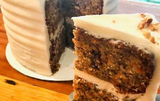 Super Easy Carrot Cake