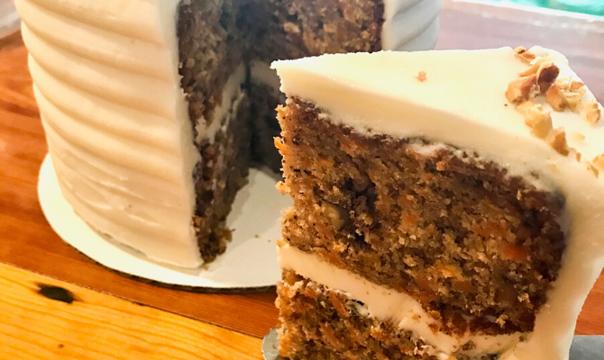 Super Easy Carrot Cake