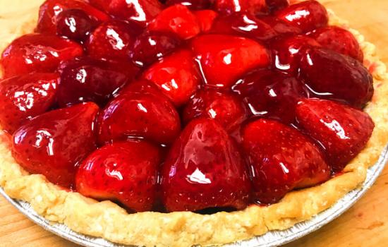 Fresh Strawberry Pie: A  Beginners Step by Step Guide