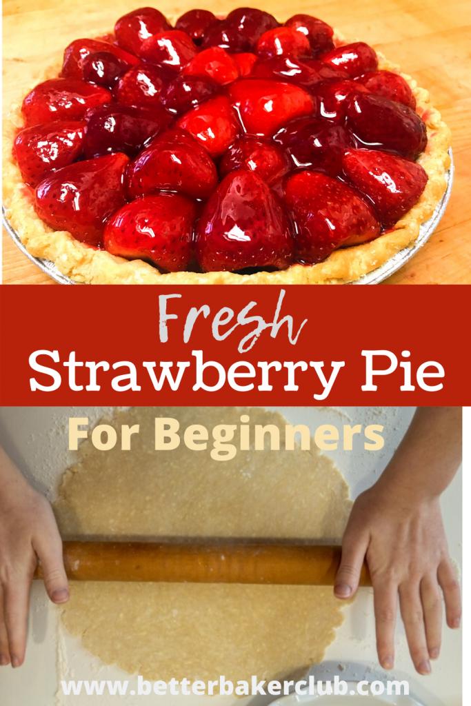 Pinterest link to Fresh Strawberry Pie