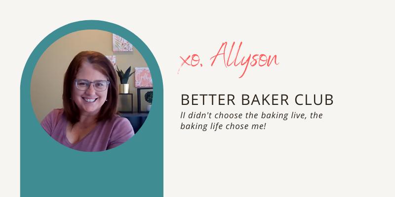 Allyson Grant home baking expert