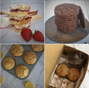 selling baked goods online graphic