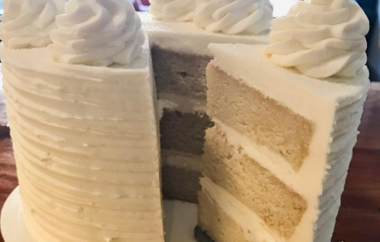 Perfect Soft and Velvety White Cake From Scratch