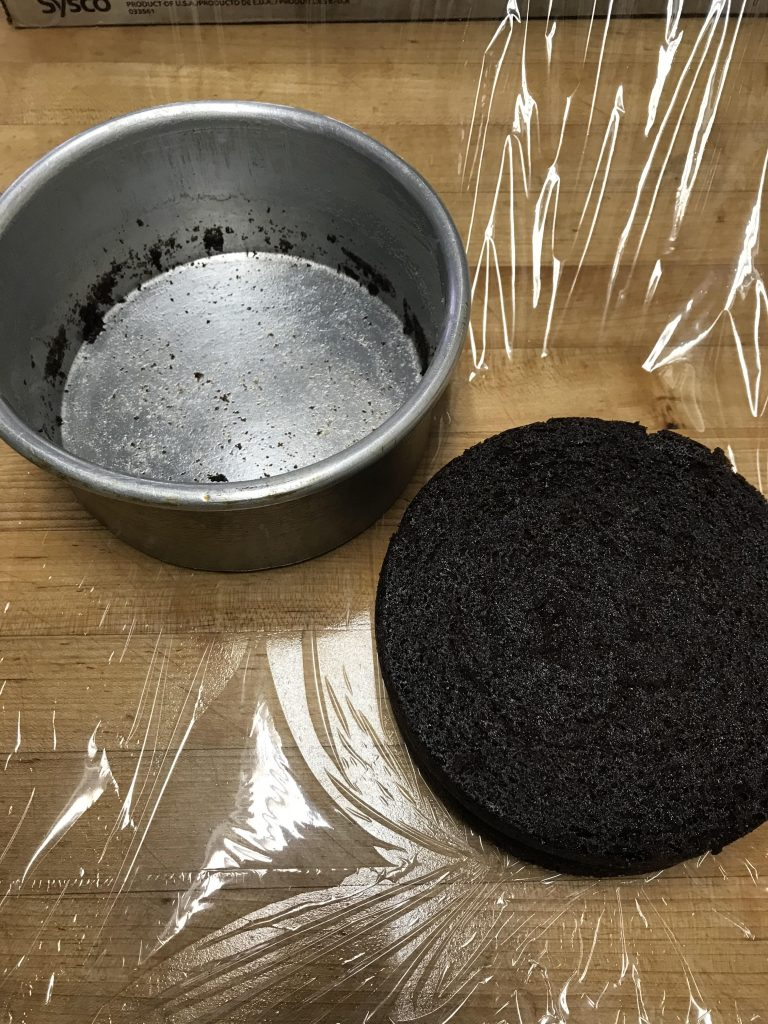 Homemade Pan Release for Chocolate Cake
