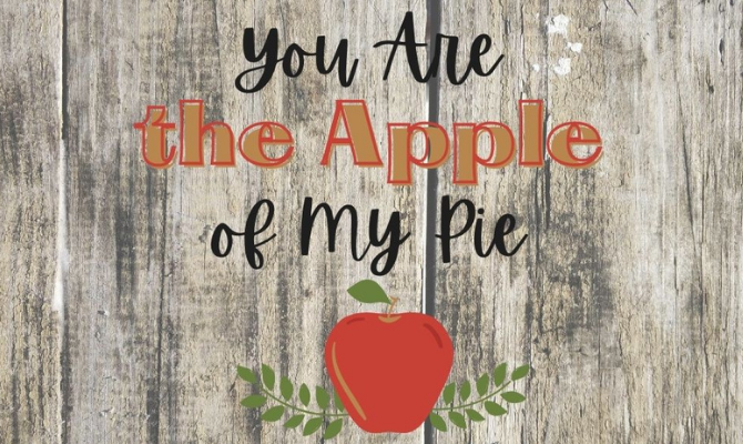 Free Printable Apple Pie Tags