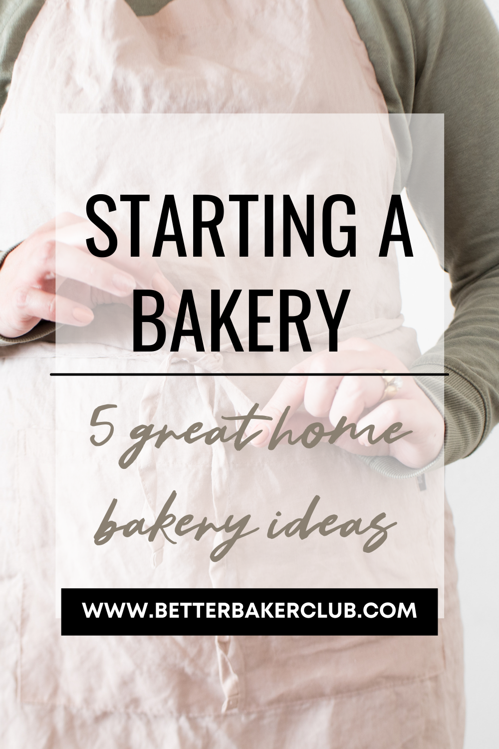 starting a home bakery