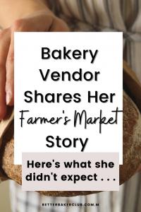 bakery vendor at farmers market