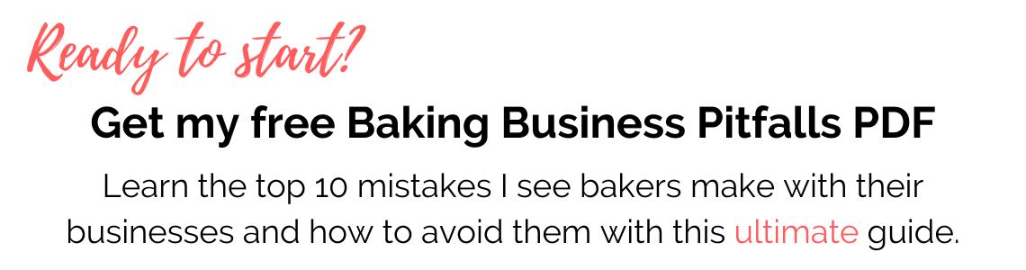 Free Baking Pitfalls Guide PDF